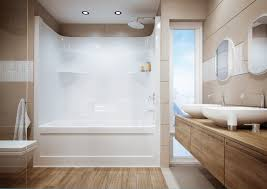 Whirlpool Bath Shower Combination Shower Tub Combo With Jets Beautiful Home Design