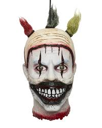 spirit halloween com amazon com twisty the clown hanging head decoration american