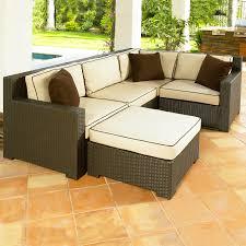 Deep Seating Wicker Patio Furniture - malibu outdoor deep seating set