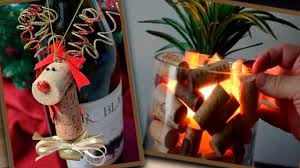diy wine cork christmas crafts ideas crafts from wine corks youtube