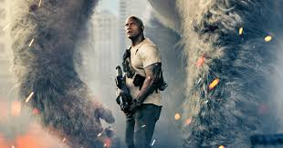 rampage trailer has the rock fighting giant mutant monsters movieweb