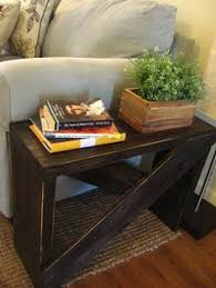 Homemade End Tables by Barn Wood End Table I Built From An Old Barn In My Field Here U0027s