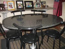 dining table with granite top espresso finish for 1500x1200