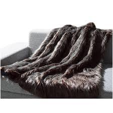Fake Fur Throws Faux Fur Throw Mellanni Fine Linens