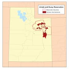 Zip Code Map Utah by Uintah And Ouray Indian Reservation Wikipedia