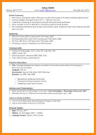 Sql Resume For Freshers Sample Resume For Freshers Gallery Creawizard Com