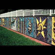 sculpture multicultural garden wall mural