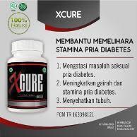 jual obat kuat pria diabetes xcure murah dan terlengkap bukalapak