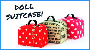 How To Keep Cats Out Of Baby Crib by Diy Miniature Doll Suitcase How To Make Doll Suitcase