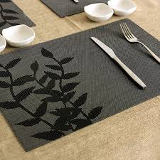 table mats and coasters placemat dining table mat heat insulation pad plastic disc pads bowl
