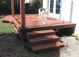 deck steps creases and kerfing