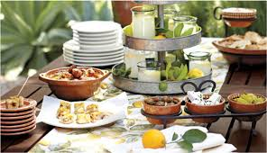 Barn Party Decorations How To Host A Mediterranean Tapas Party Pottery Barn
