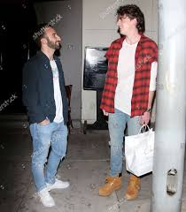 charlie puth jeans charlie puth out about los angeles stock photos pictures