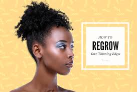 Can You Regrow Your Eyebrows Reclaim Your Thinning Edges Real Beautiful By Mayvenn
