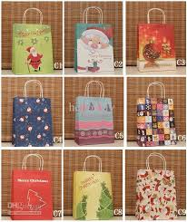 christmas gift bags wholesale mixed christmas gift bag colorized present packaging