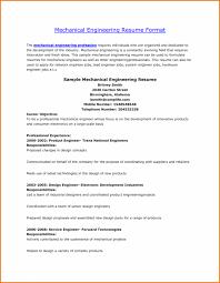 cover letter mechanical engineering sample resume sample