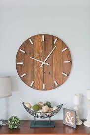 44 best wall clock images on pinterest barn wood electric