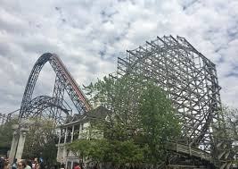 Goliath At Six Flags Goliath Review U2013 Rmc Wooden Coaster At Six Flags Great America