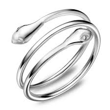 silver rings designs images 100 sterling silver rings for women personality snake silver ring jpg
