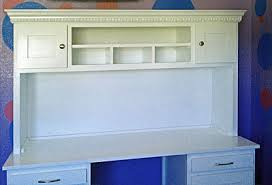 white desk with hutch and drawers desks
