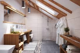 wood bathroom counter marble flooring wall hook chandelier