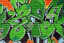 green graffiti wallpaper wall mural muralswallpaper co uk