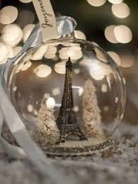 painted ornaments by les eiffel tower by saltydoug
