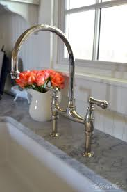 bridge faucets for kitchen interior design for rohl perrin and rowe 2 handle bridge kitchen