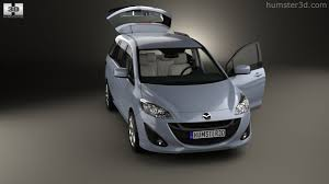 mazda interior 2010 360 view of mazda 5 with hq interior 2010 3d model hum3d store