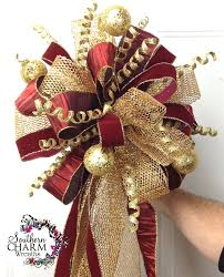 how to 5 ways to use ribbon on your tree tree