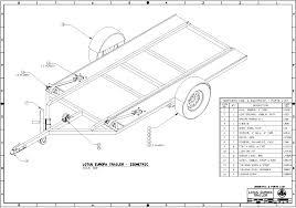 A Frame Blueprints Lotus Europa Trailer Plans
