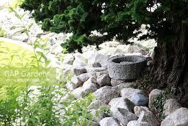 White Rock Garden Gap Gardens White Rock Mulch In Border Tree Suburban