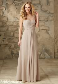 bridesmaid gown stunning illusion neck chiffon bridesmaid dress with