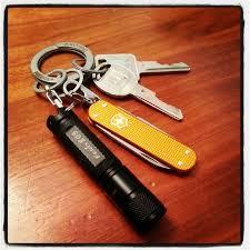 classic key rings images My current setup free key ring victorinox orange alox classic jpg