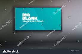 blank billboard template easy change content stock vector