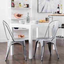 Silver Dining Chair Silver Kitchen U0026 Dining Chairs You U0027ll Love Wayfair
