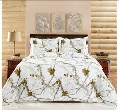 realtree bedding set bright snow white camo no seriously