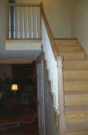Banister Newel H R Stairs U0026 Railings Portfolio View Our Work