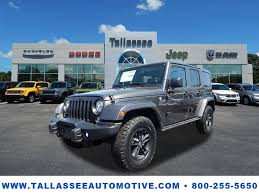 jeep wrangler 2017 grey grey jeep wrangler in alabama for sale used cars on buysellsearch