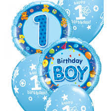 1st birthday balloon delivery balloons for u basingstoke for all your party requirements
