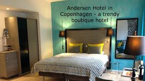 watch the video from our stay at andersen boutique hotel in
