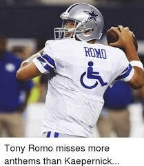 Funny Tony Romo Memes - that s all she wrote tony romo to retire for now