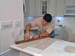 Installing Tile Backsplash Install Tile Over Laminate Countertop And Backsplash How Tos Diy