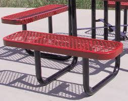 Expanded Metal Patio Furniture - 46