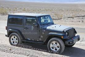 matte grey jeep wrangler 2 door jeep boosting production of popular wrangler by 50 autoguide com news