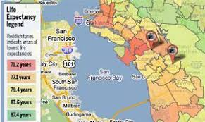 san francisco map east bay day i three east bay zip codes and disparities east