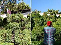 Topiary Dog Harper U0027s Topiary Garden Hidden Sandiego