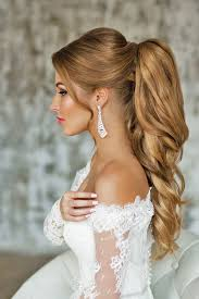 ponytail hairstyles for best 25 wedding ponytail ideas on pinterest prom ponytail