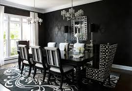 Damask Dining Chair This Black Damask Wallpaper Would Be A Great Way To Add A
