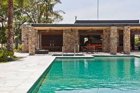 luxury images of backyard pool and patio modern guest house design